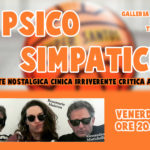 """Lo spettacolo """"Psico Simpatici"""" Venerdì 1 Marzo a Treppo Ligosullo"""