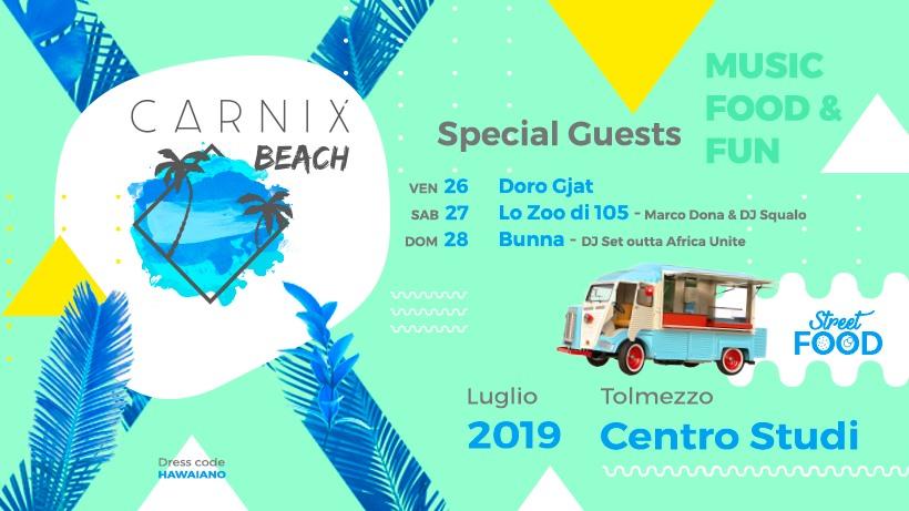 A Tolmezzo Carnix Beach 2019