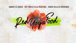 RedYogaFood 2019 – Sabato 13 luglio a Villa di Verzegnis