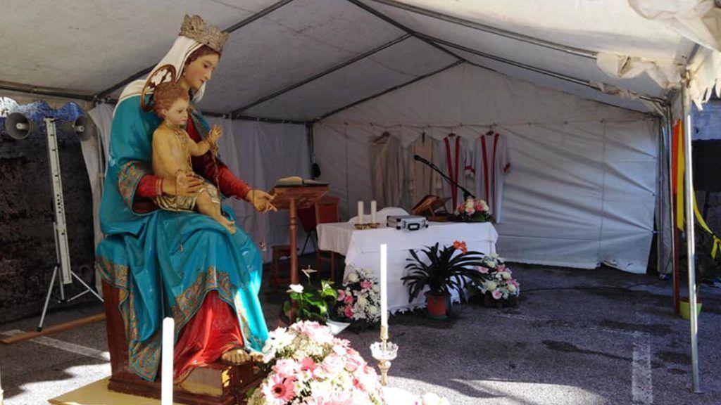 Festa della Madonna a Tausia