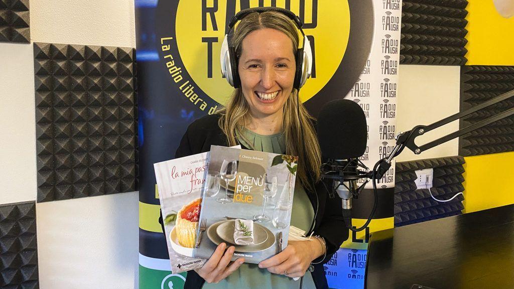 La FoodBlogger Chiara Selenati ospite su Radio Tausia