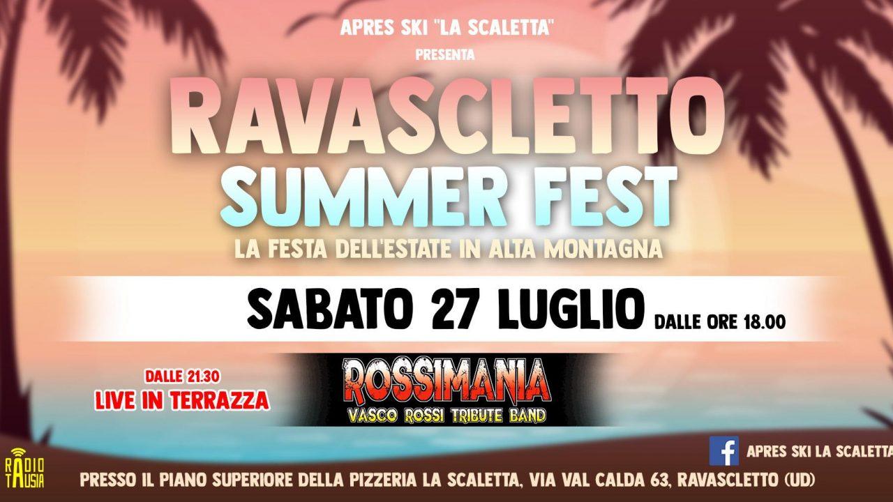 A Ravascletto la cover band di Vasco