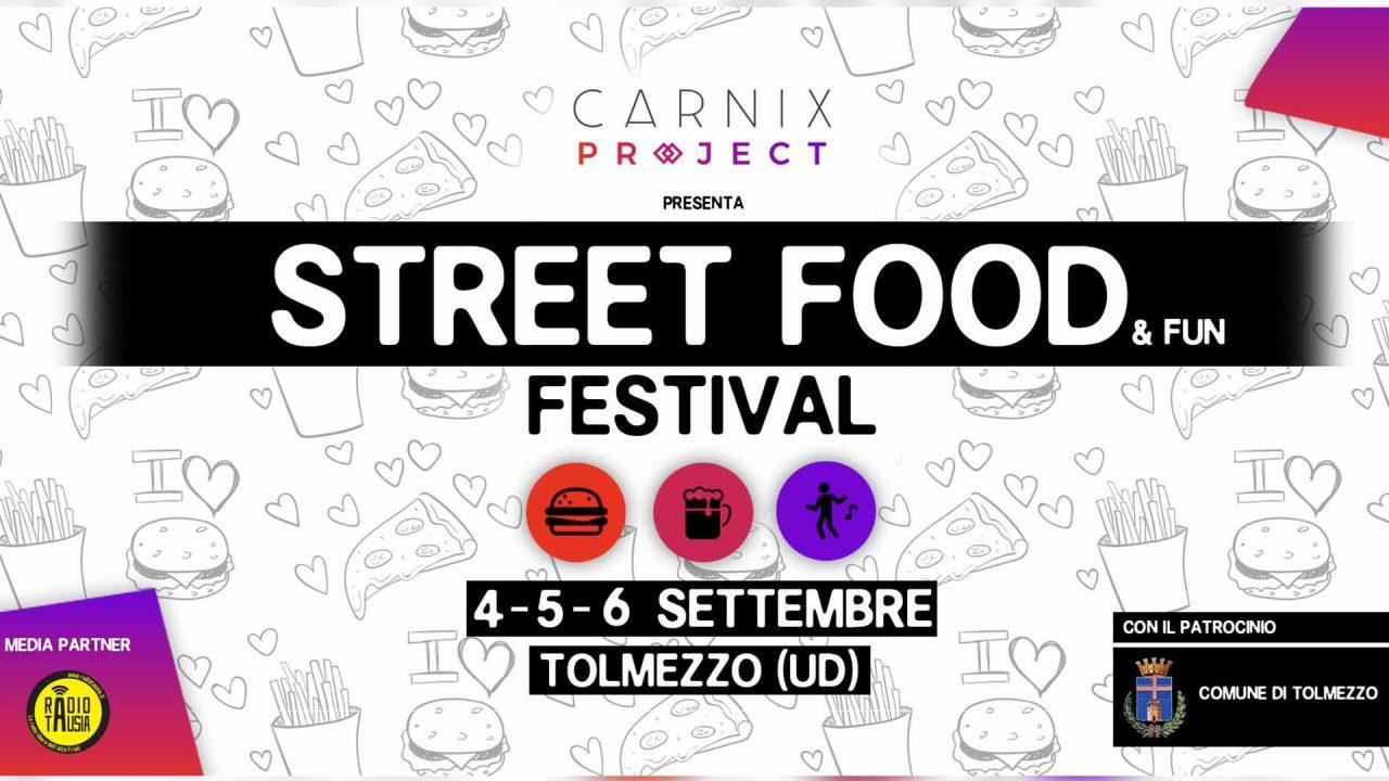 Il 4-5-6 Settembre a Tolmezzo c'è Street Food & Fun Festival
