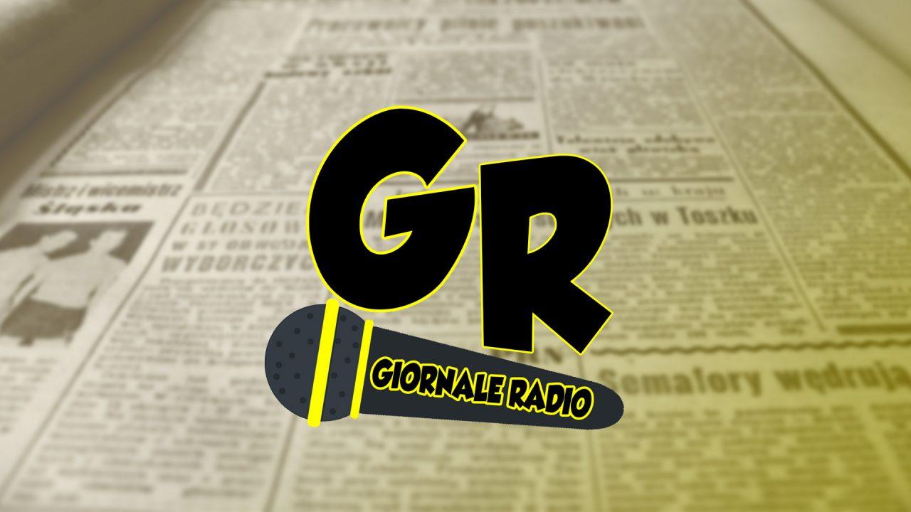La copertina del Giornale Radio