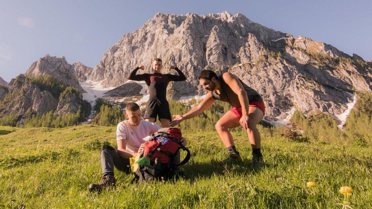 Tre ragazzi alla scoperta delle bellezze del nostro territorio