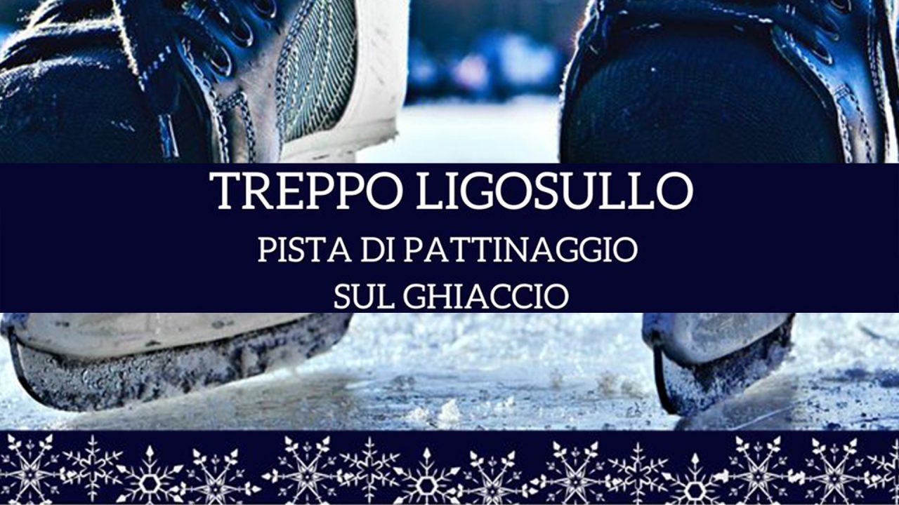 Sabato 7 Dicembre riapre la pista di pattinaggio a Treppo Ligosullo