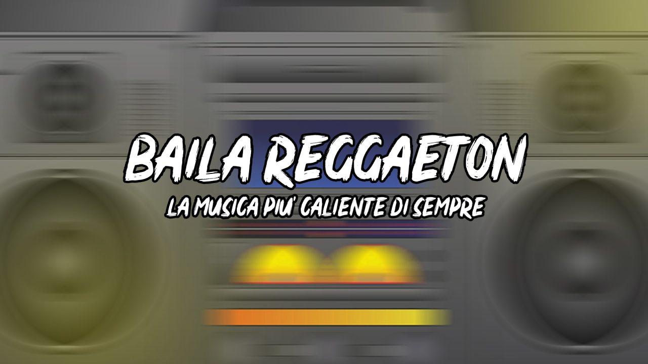 Copertina Baila Reggaeton
