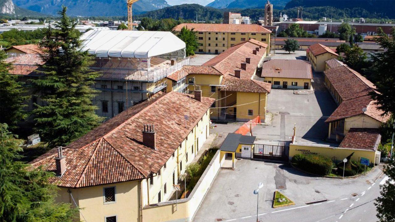 Tolmezzo dice no alla quarantena nella Caserma Cantore