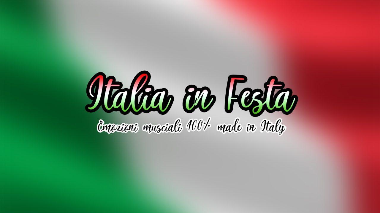 Copertina italia in festa